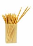 Bastoni/toothpicks del cocktail - isolati Immagine Stock