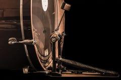Bastrommel met pedaal Royalty-vrije Stock Fotografie