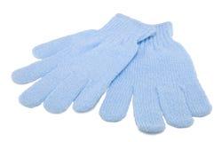 Basts in de vorm van handschoenen royalty-vrije stock fotografie