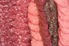 basturma salami sujukh Fotografia Stock