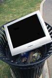 Basura de la TV Foto de archivo libre de regalías