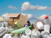 Basura del hogar Fotografía de archivo libre de regalías