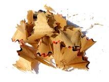 Basura del lápiz Imágenes de archivo libres de regalías