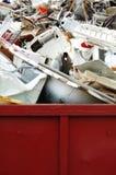 Basura del metal foto de archivo libre de regalías