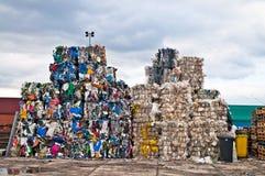 Basura del plástico Imagen de archivo libre de regalías
