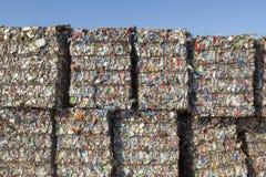 Basura reciclable Imágenes de archivo libres de regalías