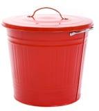 Basura roja fotografía de archivo libre de regalías