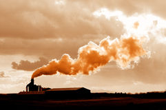 Basura tóxica Fotografía de archivo libre de regalías