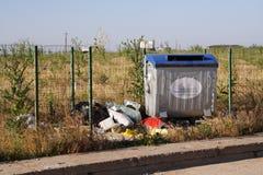 Basura y basura Imagen de archivo libre de regalías
