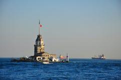 Basztowa latarnia morska Dziewiczy wierza Obraz Royalty Free