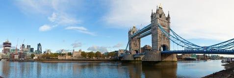 Basztowa Londyn panorama Zdjęcia Stock