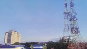 Basztowa miasto telewizja Zdjęcie Stock