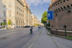 Basztowa-Straße Stockbild