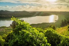 Basztowa wzgórze przyrody rezerwa w Wiktoria, Australia Zdjęcia Royalty Free