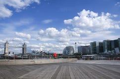 Basztowy bridżowy urzędu miasta London miasto uk Zdjęcia Stock