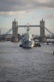 Basztowy Bridżowy Londyn Obraz Royalty Free