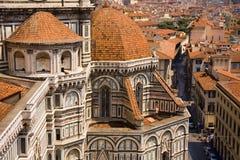 basztowy Florence katedralny widok Italy Fotografia Stock