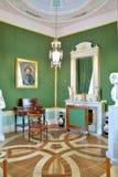 Basztowy gabinet imperatorowa przy Gatchina pałac Obrazy Stock