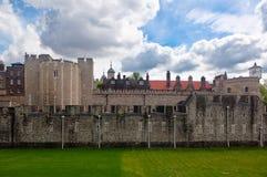 Basztowy kasztel, Londyn, Anglia Zdjęcia Royalty Free
