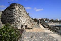 Basztowy kasztel w Puerto Del Rosario Fuerteventura Zdjęcie Royalty Free