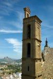 Basztowy Królewski Uczelniany kościół, Antequera Zdjęcia Royalty Free