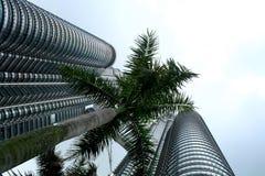 basztowy Kualalumpur bliźniak Petronas Zdjęcia Stock