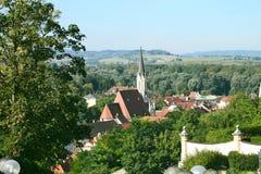 basztowy Luxembourg widok Obrazy Stock