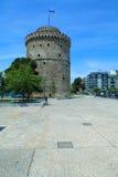 basztowy Macedonia biel Thessaloniki zdjęcie royalty free