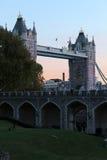 Basztowy most Fotografia Royalty Free