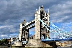 Basztowy most, Londyński ` s Sławny most, UK Obrazy Stock