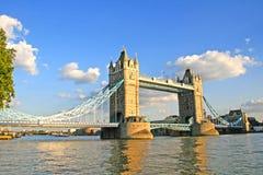 Basztowy most, Londyn. Zdjęcie Royalty Free