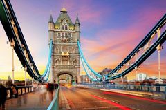 Basztowy most - Londyn Zdjęcie Royalty Free