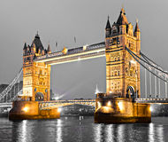 Basztowy most, Londyn, UK Zdjęcia Royalty Free