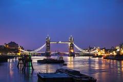 Basztowy most w Londyn, Wielki Brytania Zdjęcia Royalty Free