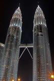 basztowy Petronas bliźniak Zdjęcia Stock