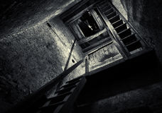 Basztowy schody obrazy stock