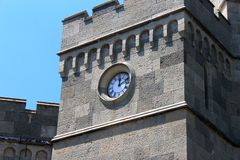 Basztowy zegar Obraz Royalty Free
