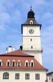 Basztowy zegar Zdjęcie Royalty Free