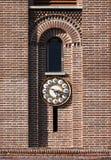 Basztowy zegar Zdjęcia Royalty Free