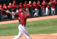 At bat, Adam LaRoche, Arizona Diamondbacks Royalty Free Stock Photos