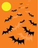 Bat background Stock Image