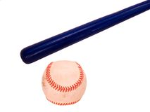 Bat And Ball Royalty Free Stock Image