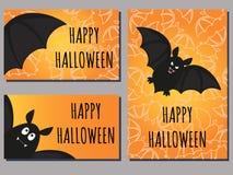 Bat cards Stock Images