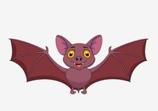 Bat cartoon flying Royalty Free Stock Images