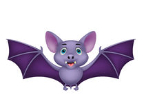 Bat cartoon flying Royalty Free Stock Photography