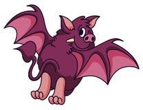 Bat Cartoon Royalty Free Stock Photos