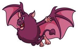 Bat Cartoon Stock Image