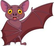 Bat cartoon waving Royalty Free Stock Image