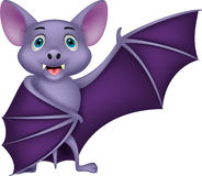 Bat cartoon waving Royalty Free Stock Photo