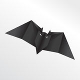 'bat' d'origami Illustration Stock